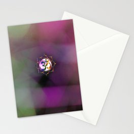 Space Om Stationery Cards