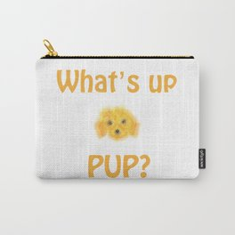 pup sketch Carry-All Pouch