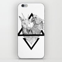 twins iPhone & iPod Skins featuring TWINS by lolklos