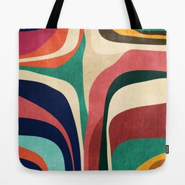 Impossible contour map Tote Bag
