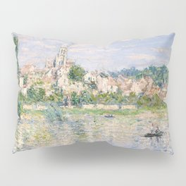 Vetheuil in Summer 1880 by Claude Monet Pillow Sham