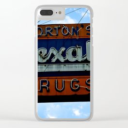 Drug Store Clear iPhone Case
