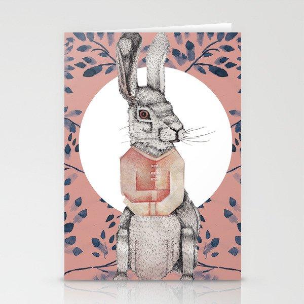 Loony Rabbit Stationery Cards