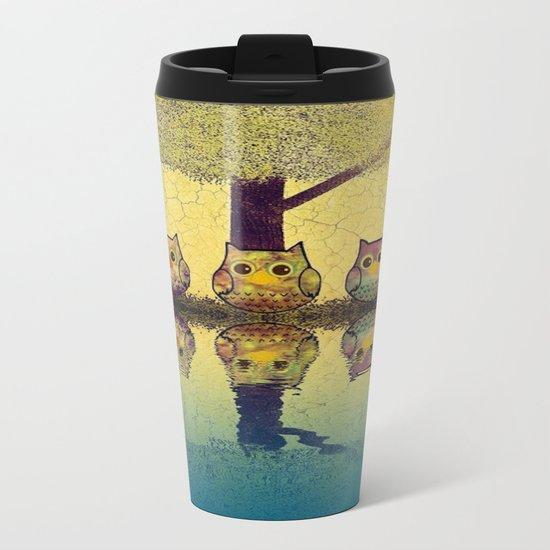 owl-7 Metal Travel Mug