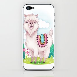 Alpaca iPhone Skin
