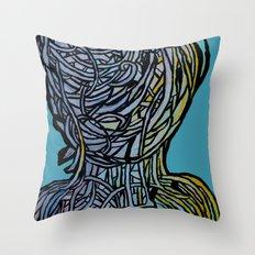 Windower Teal Throw Pillow