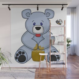 Hunny Bear Wall Mural