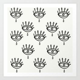 Aye eye Art Print