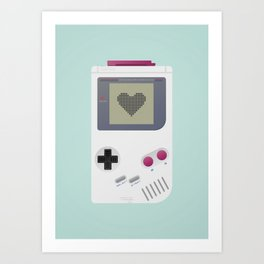 Game boy Art Print