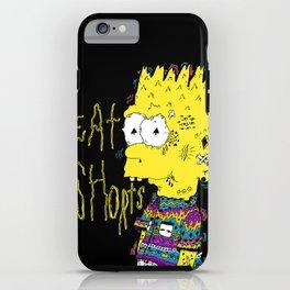 EAT SHORTS iPhone Case