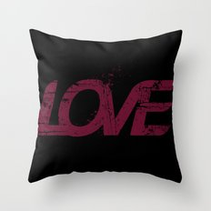 Distressed Throw Pillow