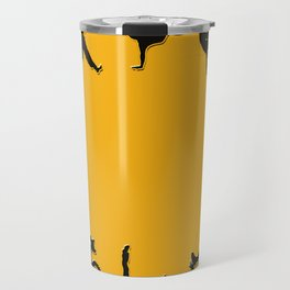 B boy Dance Clock Travel Mug