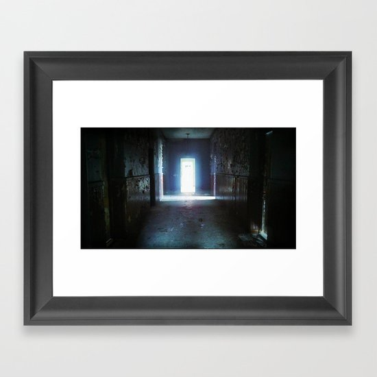 Fear - urbex - abandoned places - urban exploration  Framed Art Print