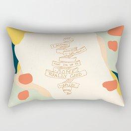 I Solemnly Swear Good Sh#t —Puff Rectangular Pillow