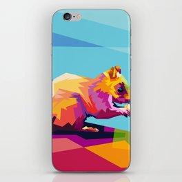 Squirrel Colorfull iPhone Skin