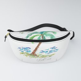 """Beach Afternoon"" Fanny Pack"