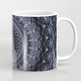 Dark gray mandala Coffee Mug