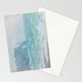 Regnvær Etretat by Claude Monet, 1886 Stationery Cards