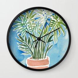 House Plant Love Wall Clock