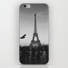 paris black and white iPhone & iPod Skin