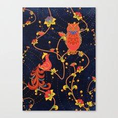 Folk Art Canvas Print