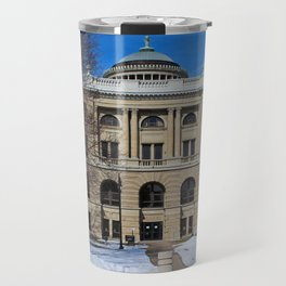Lucas County Courthouse (Back) Travel Mug