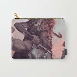 Roe beheading Orc! Carry-All Pouch