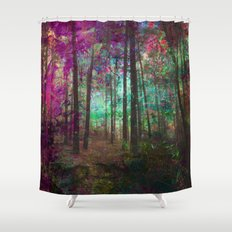 Forest of Paint Shower Curtain