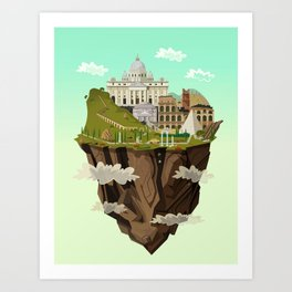 Eternal City Art Print