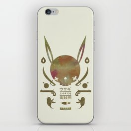 토끼해적단 TOKKI PIRATES iPhone Skin