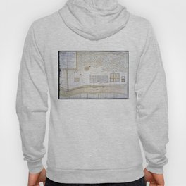 Vintage Map of New Orleans Louisiana (1747) Hoody