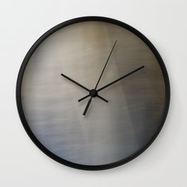 Light and Metal Abstract Wall Clock