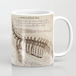 "Loch Ness Monster: ""The Living Plesiosaurus"" - The lost notebook account Coffee Mug"