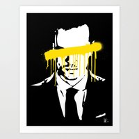 moriarty Art Prints featuring Moriarty by tillieke