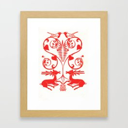 double happiness Framed Art Print