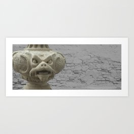 Dragon from Lednice Art Print