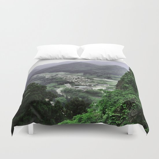 The Valley (Japan) Duvet Cover