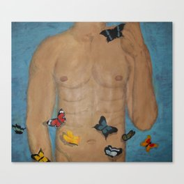 The Butterflies Canvas Print
