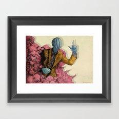 Infected 2016 Framed Art Print