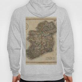 Map of Ireland 1799 Hoody