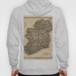 Map of Ireland 1799 Hoody