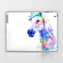 Horse Watercolor, Horse Print, Watercolor Print, Watercolor Animal, Horse Painting, Horse Gift Print Laptop & iPad Skin