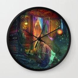 Gypsy Firefly Wall Clock