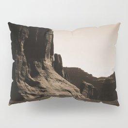 Canyon de Chelly - Chinle, Arizona – Navajo Indians on Horseback by Edward Curtis Pillow Sham
