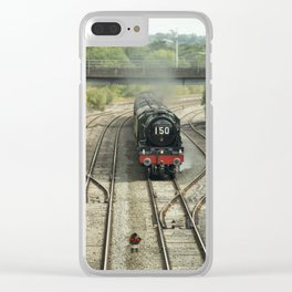 Royal Scot at Tiverton Junction Clear iPhone Case
