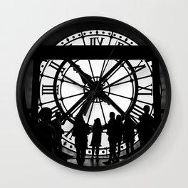 twice a day Wall Clock