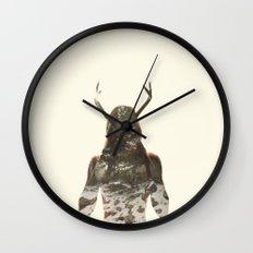 Natural habitat Wall Clock
