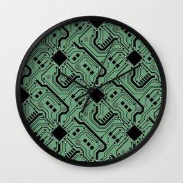 Printed Circuit Board - Color Wall Clock