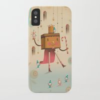 king iPhone & iPod Cases featuring KIng by Cristian Turdera