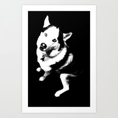 Husky Husky Art Print